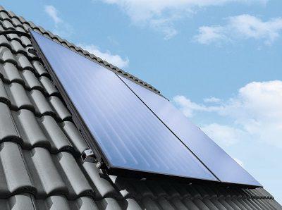 Solar Anlage Aufdachmontage