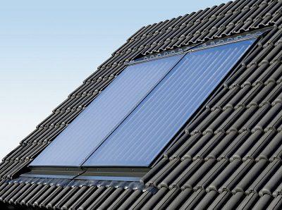 Solar Anlage Indachmontage
